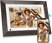 Bsimb Smart Hd Digital Picture Frame 10.1 Inch Wi-fi Photo Frame With Ips Touch