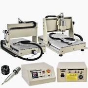 6040 3-axis Cnc Router Metal Pcb Wood Engraver Er11 3d Mill Machine+rc1.5kw Us