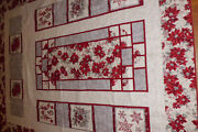 Handmade And Long Arm Quilted Quilt Christmas Magic