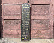 Antique D.j Kaufman Clothing Store Thermometer Washington D.c Advertising Sign