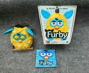 Furby Lightning Zap Yellow Teal -in The Box- 2012 Hasbro Interactive Toy - Rare