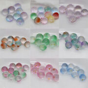 12mm 20pcs Round Crystal Glass Ball Loose Beads Diy Colorful Hot Sale - No Holes