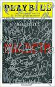 Macbeth Autographs Whole Cast Including Ethan Hawke Hand Signed Playbill