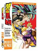 Dragon Ball Z Movie Collection 2 Dvd Movies 6-9