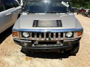 03-07 Hummer H2 Complete Hood With Grille Headlight And Marker Lights Paint 382e