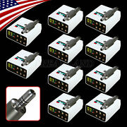 1-10set Usps Dentist Led Brushless Electric Micro Motor Fit 11/15 Contra Angle
