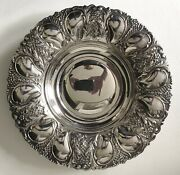 Vintage Fb Rogers Ornate Silver Plated Plate Centerpiece Bowl Made In Spain 11.5