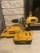 Dewalt Dc900 36v 1/2 Cordless Drill/driver Hammerdrill With Battery And Charger