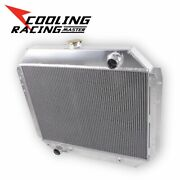 3 Rows Alloy Radiator For Ford F-series Pickup F-100 F-150 F-250 F-350 V8 66-79