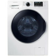 Samsung 2.2-cu Ft High Efficiency Stackable Steam Cycle Front-load Washer White