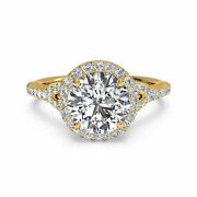Special Sale Solitaire 1.10 Ct Real Round Diamond Ring Fine 14k Yellow Gold Band