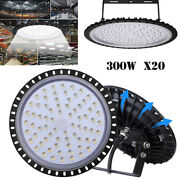 20x300w Led High/low Bay Light Fixture Warehouse Gym Factory Shed Shop Lighting