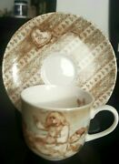 Lenox Young Lady's 2pc Tea Cup And Saucer
