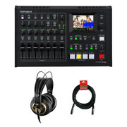 Roland Vr-4hd Hd Av Mixer W/ Akg K 240 Pro Stereo Headphones And Cable
