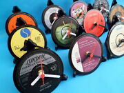 New Vinyl Record Desk Clocks Each Original Single Artists Starting With And039mand039