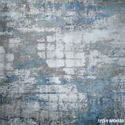 Andros Collection Gray/blue Transitional Area Rug - 5' X 8'
