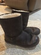 Womens Uggs, Leather, Size 8, Vgc