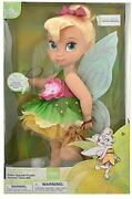 Disney Store Animators Collection Doll Tinker Bell Peter Pan Special Edition New