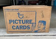 1990 Topps Baseball Vending Case Sealed 24 Boxes Of 500 Cards Frank Thomas Rc