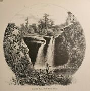 Fishing Red Mill Falls Black River Reservation High Meadows Elyria Ohio 1872