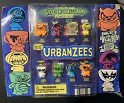 Vintage Urbanzees Gumball Vending Machine Charms Glow In The Dark Kids Toys
