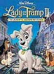 New Lady And The Tramp Ii Scamps Adventure Dvd, 2001 Disney Part 2 Movie