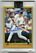 2017 Topps Archives Paul Oand039neill Auto And03999 Topps Ed 03/11