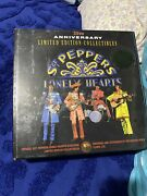 The Beatles Sgt Peppers Lonely Hearts 25th Anniversary Collectible Box Vintage