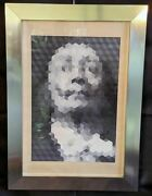 Jean-pierre Vasarely Yvaral Faces Of Dali 2 Signed 55/200 - Framed