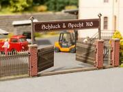 Noch 14234 - Gate With Brick Columns Ho Scale Discontinued