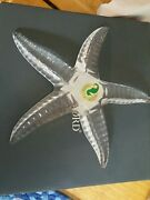 Exquisite Waterford Made In Ireland Art Lead Crystal Starfish Star Fish Figurine