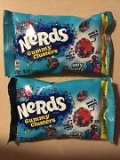 Nerds Gummy Clusters Chewy Candy, Very Berry, Share Pouch Bag Lot Of 2