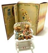 Enesco Mouse Tales Bless These Gifts Two Little Girls Figurine