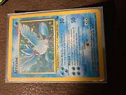 Articuno Fossil Edition Pokandeacutemon Card 1990 In Good Condition Couple Scratches Onc