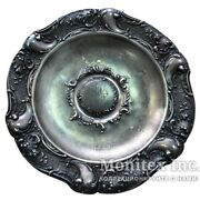 Antique 1901 Bowl Plate Fruit Tree 84 Sterling Silver Russian Empire 306.6 Gram