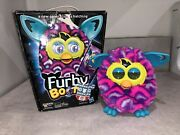2013 Furby Boom Pink Blue And Purple Plush Furby Toy Hasbro With Box