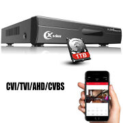 Xvim 8ch 1080p Outdoor Security Camera System Dvr With 1tb Hard Drive
