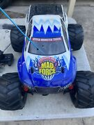 Kyosho Mad Force Nitro Rc Car Vintage 3 Speed With 4 Wheel Steering