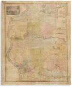 Scarce Antique 1835 And039plan Of Springfieldand039 Massachusetts Map By George Colton
