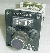 Aircraft Vhf 25 Mhz Comm Control Panel