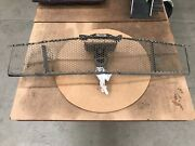 Oem 1964 1965 Ford Mustang Grille With Hood Latch Vintage Working Some Damage