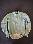 Rapha Pro Team Race Cape Cycling Jacket Small — Excellent Condition — Blue/grey