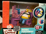 The Simpsons Mcfarlane Toys - Ironic Punishment New In Box