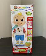 Cocomelon Deluxe Interactive Jj Doll Feed/dress/sing Toy For Preschoolers