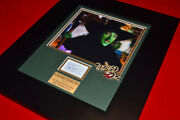 Wizard Of Oz Signed Margaret Hamilton Autograph Witch Doll Dvd Frame Coa Uacc