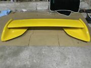 Jdm Mazda Fd3s Rx-7 Rx7 Genuine Yellow Rear Wing 5 6 Type Rs Late Spoiler Used