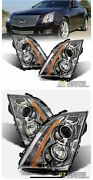 2011 Cadillac Cts Coupe 3.6 Headlights Hid Headlamps Replacement Left+right