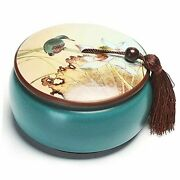 Ceramic Canister Tea Caddy Food Storage Containers Decorative Jars For Tea