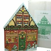 Large Byers Choice Traditions Wooden Christmas House Advent Calendar 22 2012