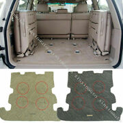 For Toyota Land Cruiser Lc100 2002-07 Trunk Floor Mat Carpet Protection Cover 1p